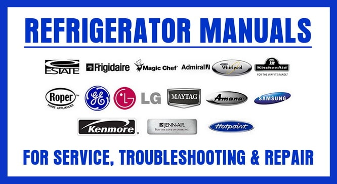 refrigerator service repair manual and owners manuals online - refrigerator  wiring schematic