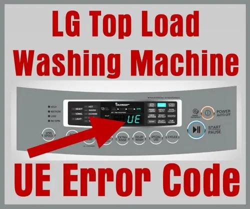 lg microwave oven circuit diagram 2 speed motor wiring washing machine error code ue top load washers