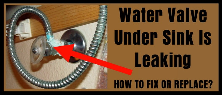 how to fix a leaking shut off valve
