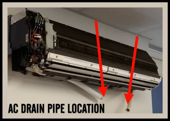 Wall Air Conditioner Water Drain