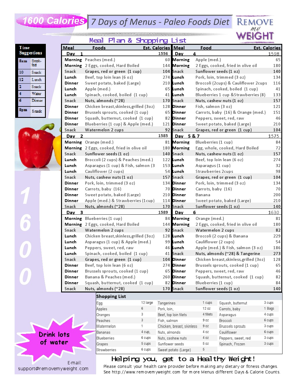 All about the 500 calorie diet