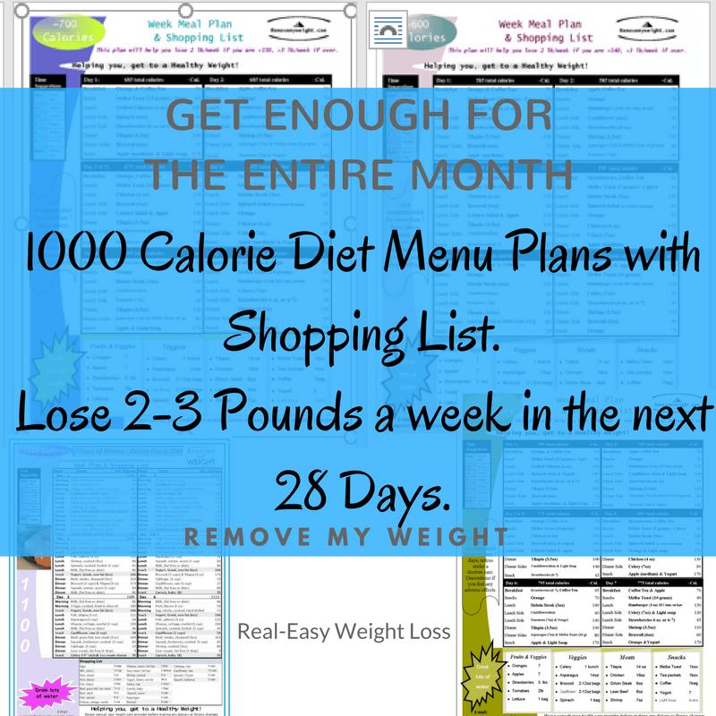 My Fit Foods Menu Calories