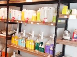 Putzmittel und Hygieneprodukte