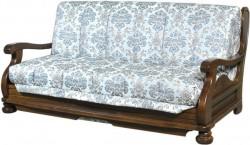 Solid beech sofa bed