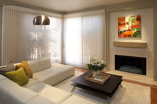 small living room color
