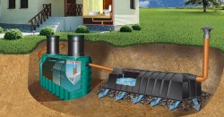 septic tank for summer cottages