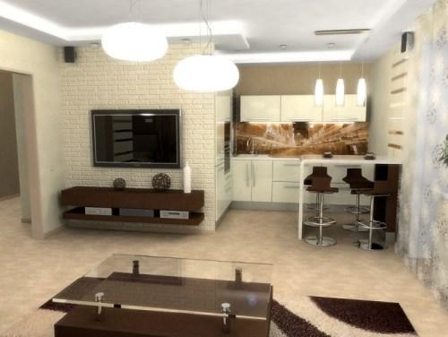 small apartment design lighting 3