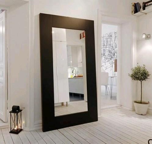 hallway furniture mirror