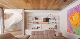 Laminate ceiling decoration