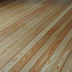 Larch floorboard