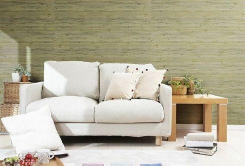 bamboo wallpaper gluing 3