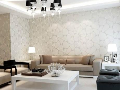 paper wallpaper for living room