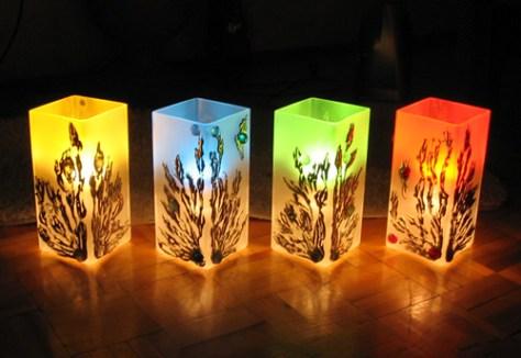 decorative lighting in bedroom 4