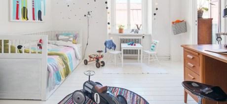 wooden floor in the nursery 2