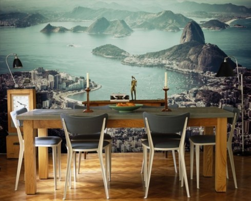 wall mural kitchen style 3