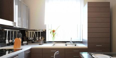 kitchen natural lighting