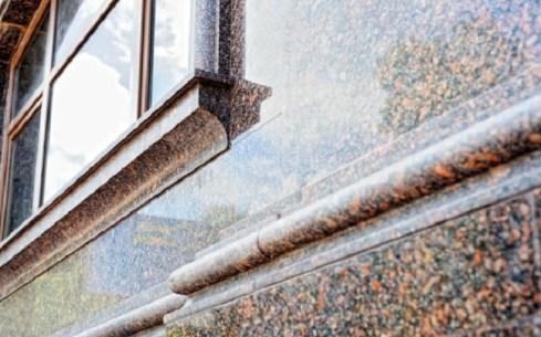 house facade decoration granite