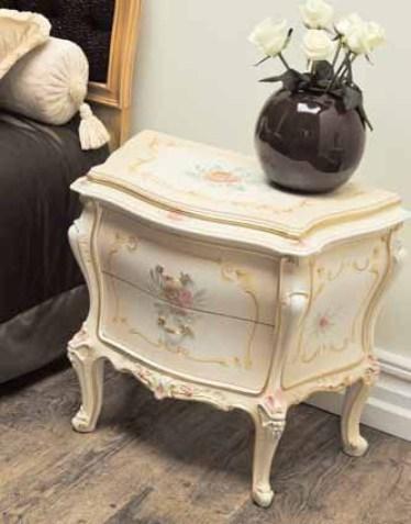 Baroque bedside table
