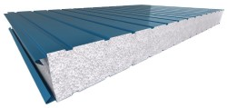 sandwich panels with expanded polystyrene