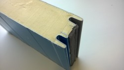 sandwich panels with polyurethane foam