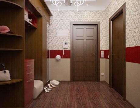vinyl wallpaper for hallway