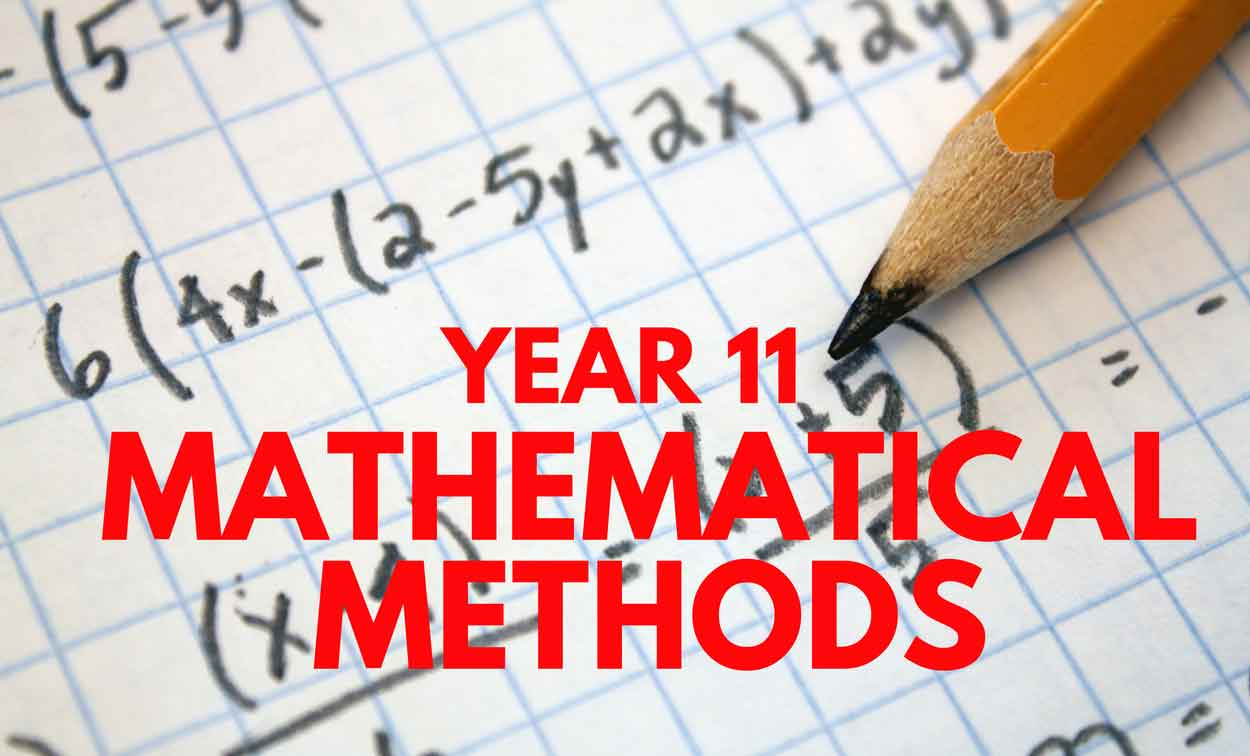 Adelaide Year 11 Mathematical Methods Tuition