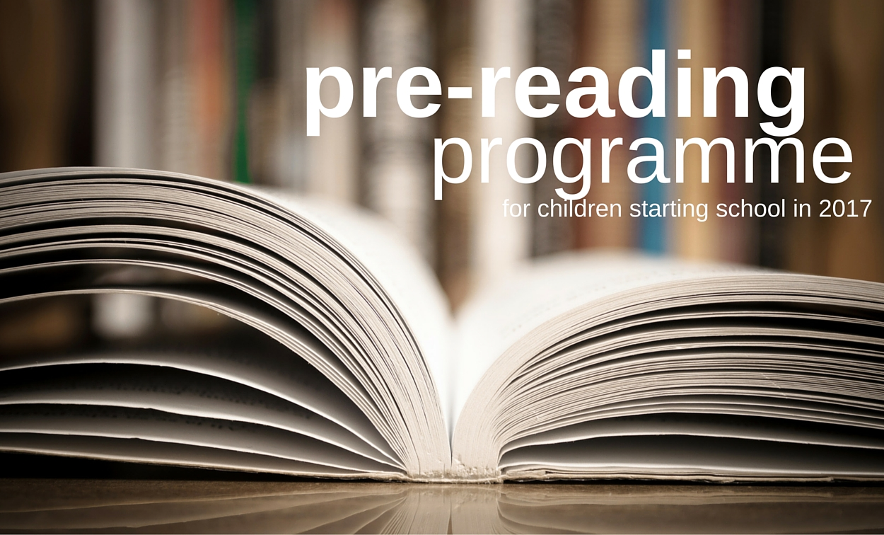 Pre-reading Programme for Children Starting School in 2017