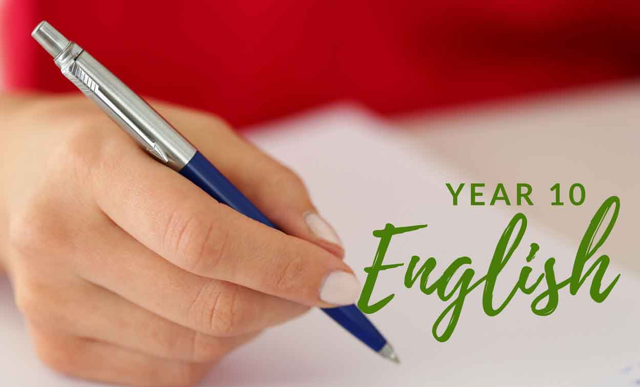 Adelaide Year 10 English Tuition
