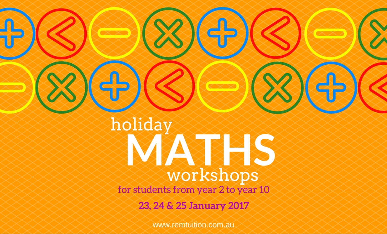 Holiday Maths Workshops
