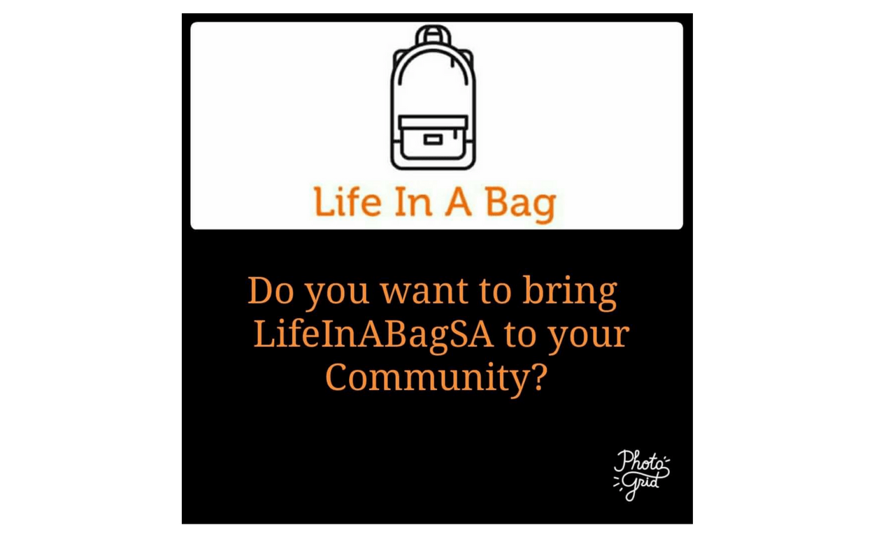 LifeInABagSA 2019 – Assisting Those Who Need a Helping Hand