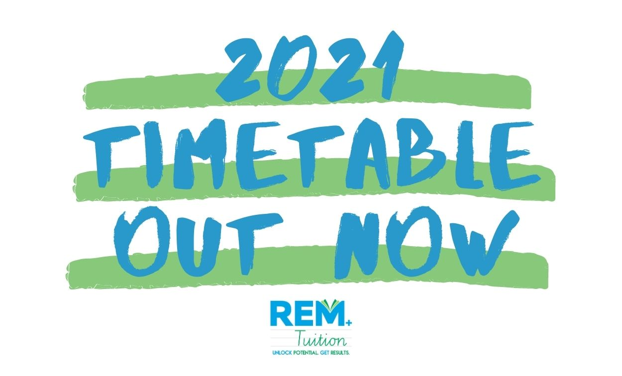 2021 Adelaide Tuition Timetable — Book Your Classes Now!