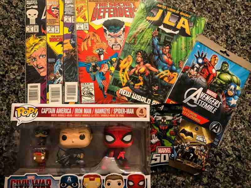 Comic Book Geek Extravaganza Giveaway