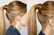 fun braid hairstyle remy hair