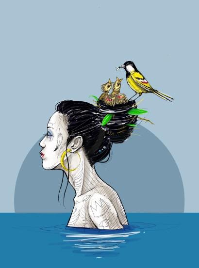 procreate-birdhair