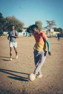 i am | a counterattack, thrusting throught the midfield, goal-bound. Khomasdal, Windhoek, Namibia.