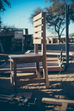 i am | a place for a bum, completed. Auas Road, Windhoek, Namibia.