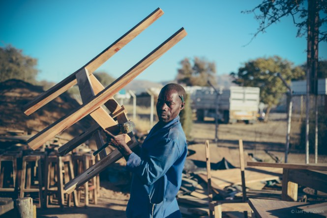 i am | the passer-on of wood-lore, the patient teacher. Auas Road, Windhoek, Namibia.