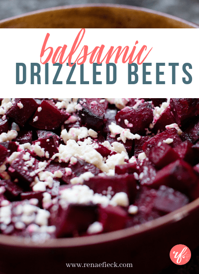 Balsamic Drizzled Beets