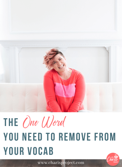 The One Word You Need to Remove from Your Vocab with Stephanie Bagley- 045