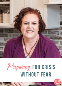 Preparing for Crisis without Fear with Kathi Lipp