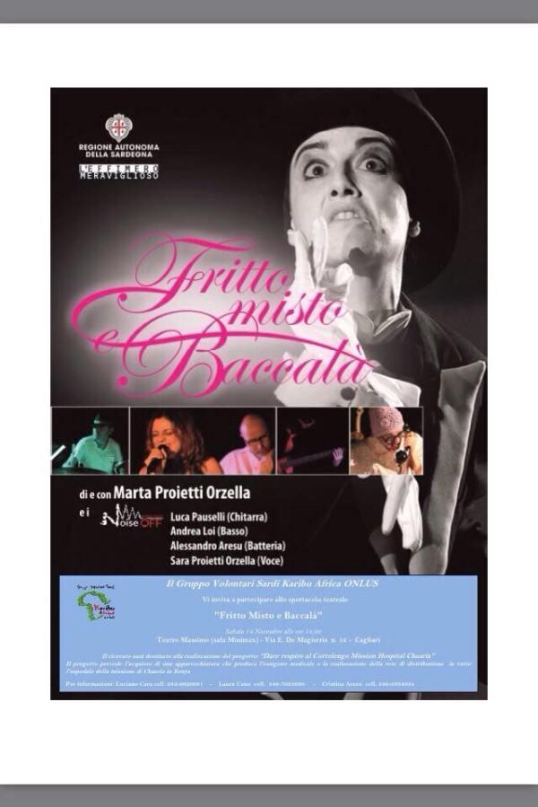 """Spettacolo Teatrale """"Fritto Misto e Baccalà"""" - 14/11/2015, ore 18:00"""