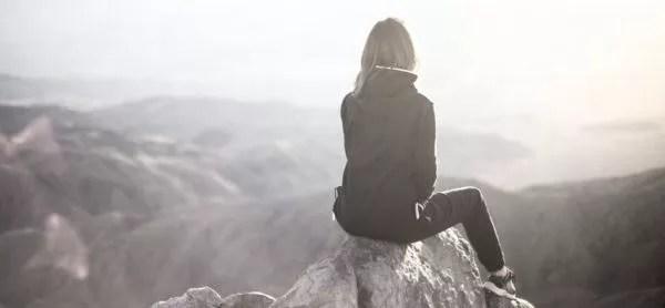 女性 光 山 神秘 自然 精神統一