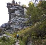 Im schluchtartigen Aufstieg (Aseiai da Palü)