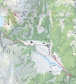 Streckenplan Cavaglia - Alp Grüm (Quelle: map.geo.admin.ch)