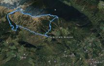 Die Route (Google Earth)