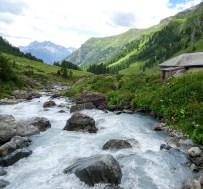 Wendepunkt Brücke bei der Alp Valmala
