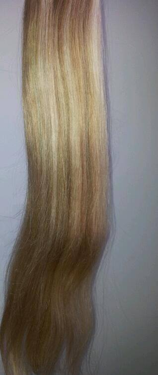 Extensions tissage blond