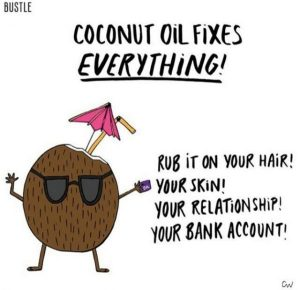 Coconut oil meme