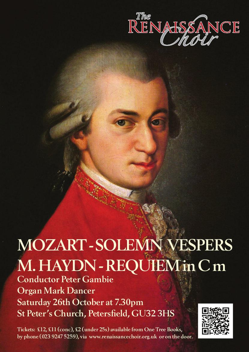 Poster for Vespers concert