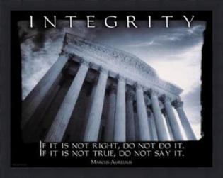 Simple rules for integrity